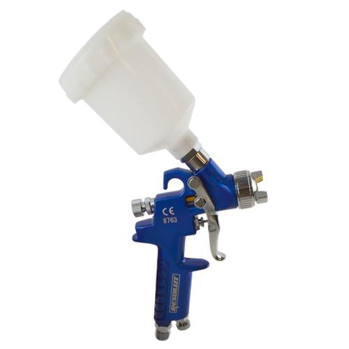 Mini Spray Gun Gravity Feed HVLP Touch Up Gun 0.8mm Nozzle 125ml Pot