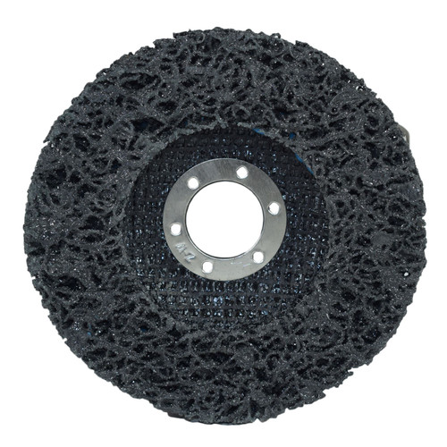115mm Flap Disc Clean Strip Rust Paint Graffiti Sanding Caramelised Wheel x 5