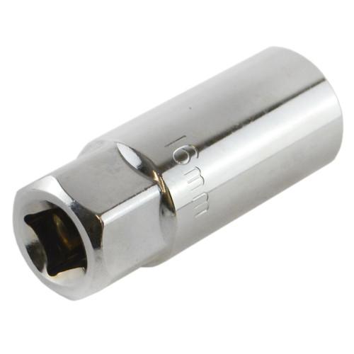 "16mm 3/8"" Drive Spark Plug Socket Remover Installer Tool 6 Sided"