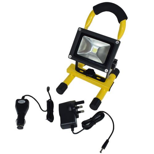 10w Work Light Inspection Lamp COB LED Swivel Spotlight Flood Torch Lithium
