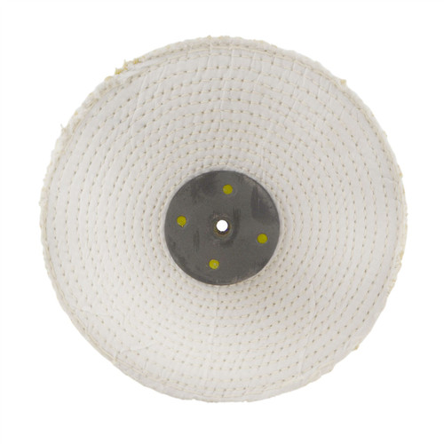 """8"""" x 1"""" Conversion Polishing Mop Kit For 3/4 HP Grinders 3 Mops Compounds Spindle"""