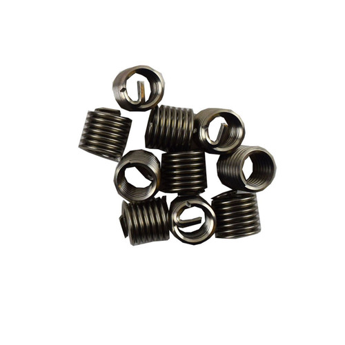 """3/8"""" x 16 UNC Imperial Tap Repair Cutter Kit Helicoil Damaged Threads 14pc Kit"""