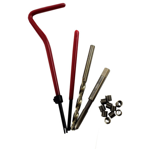 "3/16"" x 32 BSF Thread Tap Repair Cutter Kit Helicoil Damaged Threads 14pc Kit"