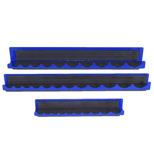 3 Piece Magnetic Tool Holder Set Organiser Blue Spot Bluespot Storage 8 12 18