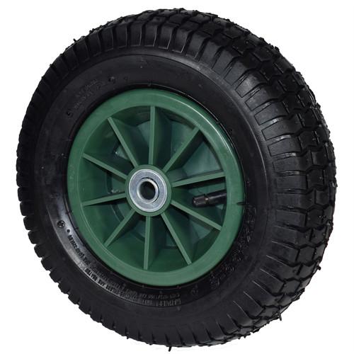 "12"" Pneumatic Sack Truck / Trolley / Dolly / Garden Cart Wheel PAIR 13x5.00-6"