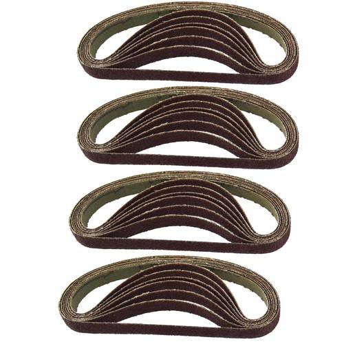 10mm Air Finger Belt Sander And 25 Belts 330 x10 Power File Detail Sander Bergen