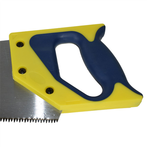"""Hardpoint Handsaw Wood Saw Cutter Cutting Tool With Soft grip Handle 22"""" Blade"""