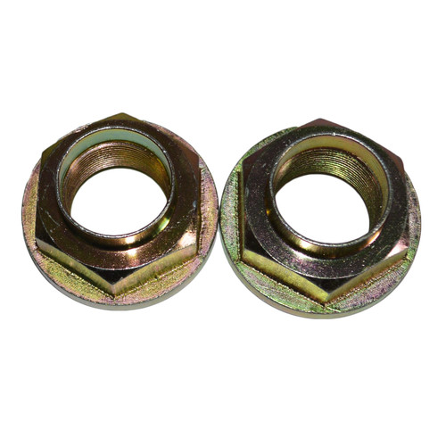 2 Trailer Hub Axle Nuts M30 30mm Flange Nut One Shot for Ifor Williams Trailers