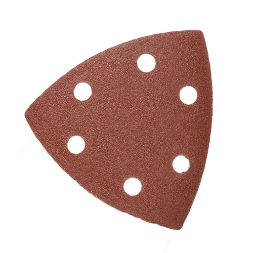 Hook And Loop Sanding Abrasive Discs Pads 90mm Triangular 100pk Mixed Grit