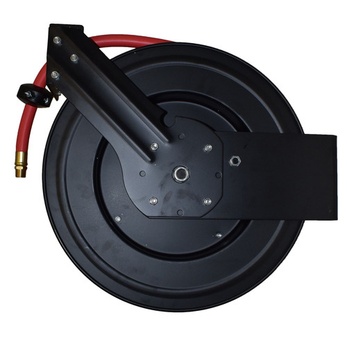 Retractable 50ft Air hose on Reel 1/2 BSP Spring Rewind Wall Mountable BSP AT455