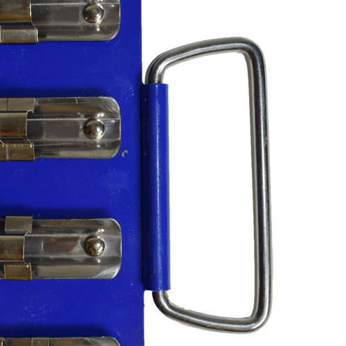 """80pc Socket Holder Tray Rack Rail Storage For 1/4"""" 3/8"""" And 1/2"""" Drive Sockets"""