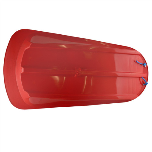 1 Plastic Heavy Duty Outdoor Snow Sledge Toboggan Sleigh Bobsled Bobsleigh