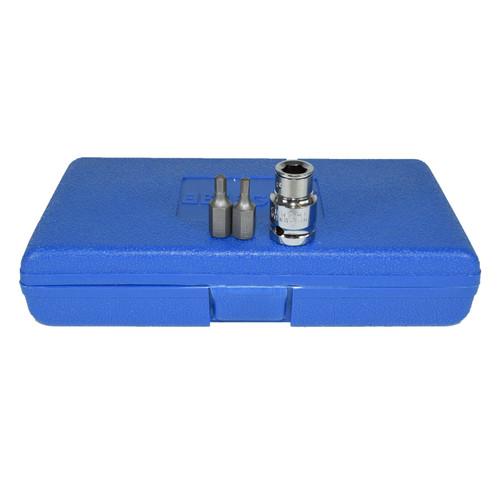 "1/2"" Drive Shallow and Deep Male Hex Allen Key Bits 4mm - 12mm 15pc Bergen"