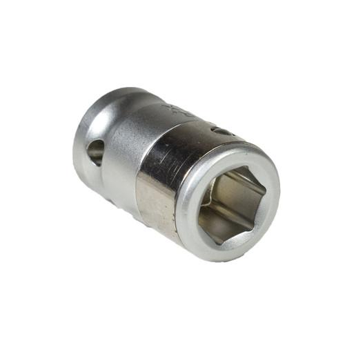 "3/8"" Drive 10mm Hexagon Screwdriver Bit Holder Adaptor Adapter Socket Retainer"