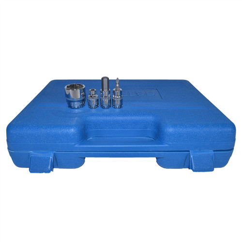 """3/8"""" Drive Metric Shallow And Deep Socket And Accessory Kit 61pc By Bergen"""