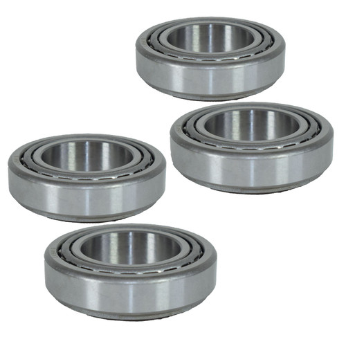 4 Trailer Taper Tapered Roller Bearings ID 29 x OD 50.29 x W 14.22 Unbraked Hub