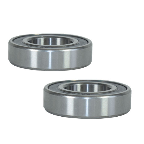 2 Sealed Trailer Wheel Hub Metric Ball Compact Bearings ID25 x OD47 x W12mm