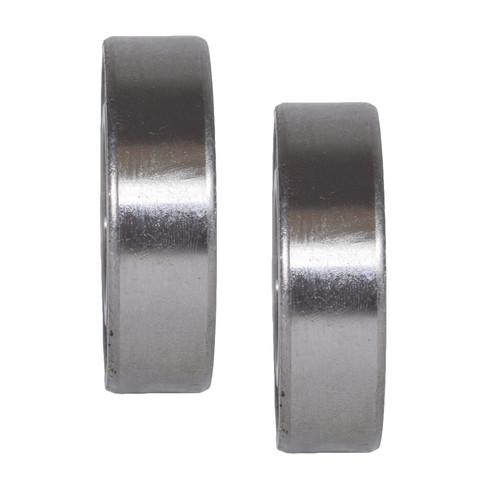 2 Sealed Trailer Wheel Hub Metric Ball Compact Bearings ID25 x OD52 x W15mm