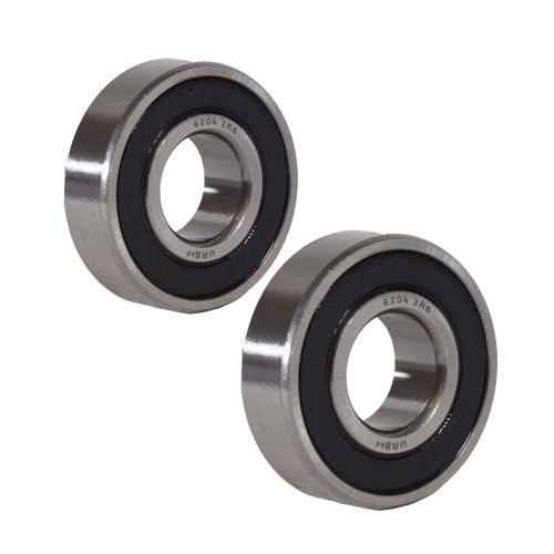 2 ERDE Sealed Trailer Wheel Hub Ball Compact Bearings ID20 x OD47 x W14mm
