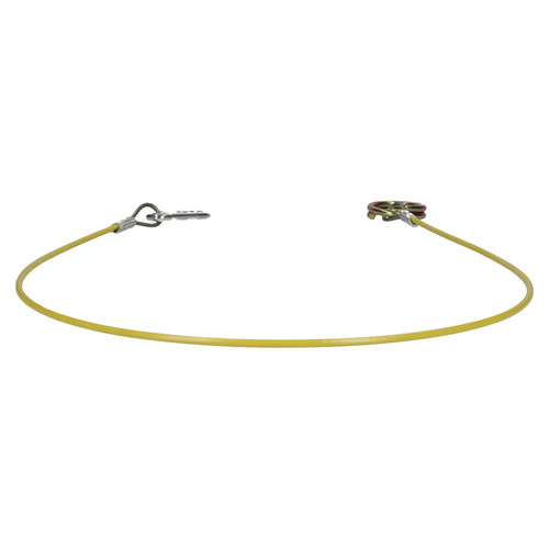 1 Metre Ring Hook Trailer Caravan High Vis Brake Away Breakaway Safety Cable