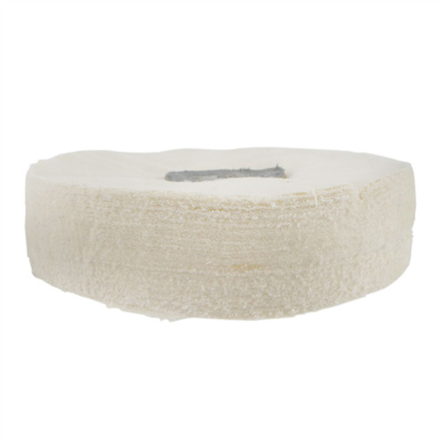 """G Loose Unstitched Floppy Final Polishing Mop 6"""" x 1"""" 2 Row With Compound 250g"""