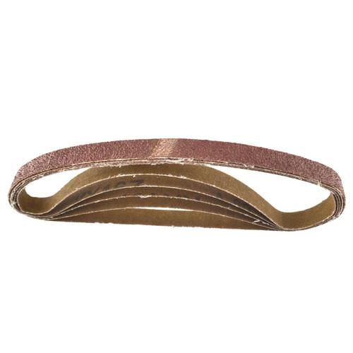 Belt Power Finger File Sander Abrasive Sanding Belts 457mm x 13mm 60 Grit 50pk