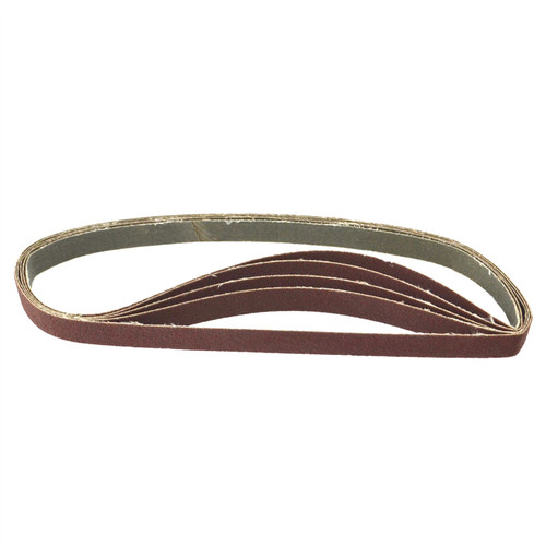Belt Power File Sander Abrasive Sanding Belts 457mm x 13mm 120 Grit 100pk