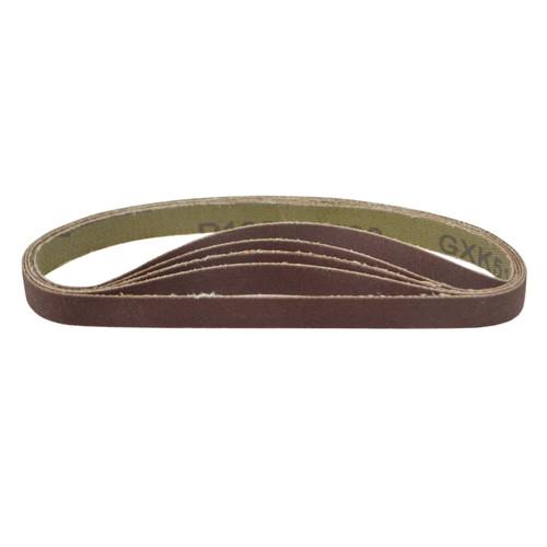 Belt Power Finger File Sander Abrasive Sanding Belts 330mm x 10mm 120 Grit 50pk