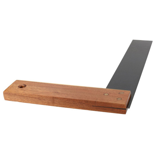 "12"" (300mm) Hardwood Try Engineer Square Precision Tri Set Square Right Angle"