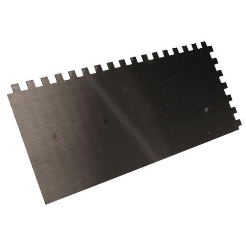 8mm Notched Teeth Float 280 x 115mm Trowel Plastering Skimmer Plaster
