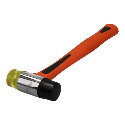 30mm Rubber & Nylon Mallet Fibre Handle Jewellers Hammer Window Glazing