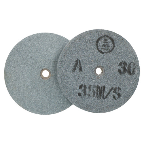 """6"""" 150mm Bench Grinder Grinding Discs Wheels 36 (coarse) and 60 (fine) Grit 2pc"""