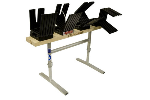 Saw Horse Log Holder Wood Table Bench for Chain Saw Truncator Metal