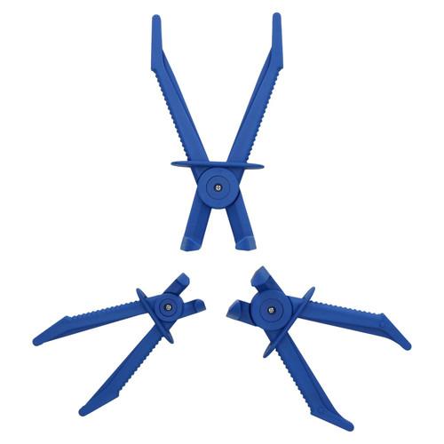 Angled Flexi Hose Clamp Pipe Brake Line Locking Pliers Radiator Hose 10 - 24mm