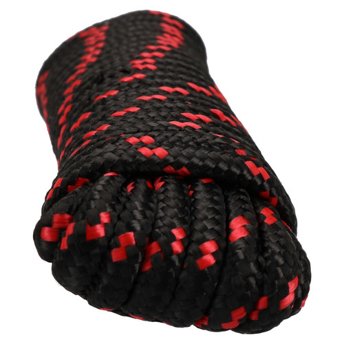 8mm x 10m Multi-Purpose Polypropylene Braided Rope for Camping Gardening