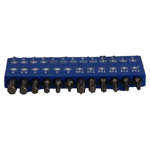 25pc Short 25mm Screwdriver Hex Torx Pozi Phillips Slotted Power Bit Set U S Pro