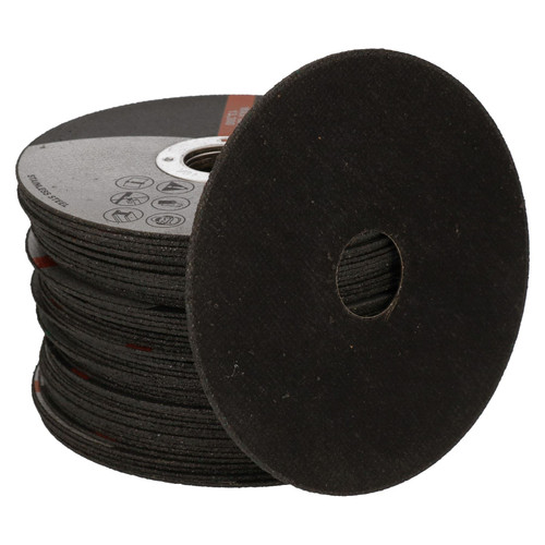 "4-1/2"" / 115mm Angle Grinder x 1mm Thin Metal Steel Cutting Discs Disc 50pc"