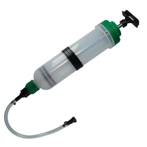 Fuel Retriever Syringe 1.5 Ltr Suction Pump Fuel Tank Drainer Primer AU617