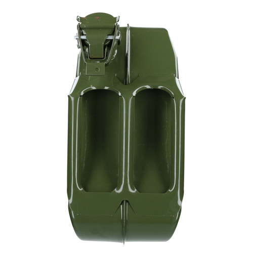 20 Litres Metal Fuel Jerry Can Holder Storage Container & Flexible Spout Pourer