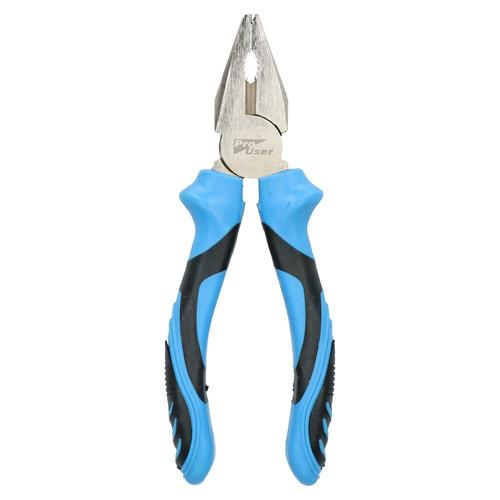 Combination Flat /& Bent Nose Silverline Mini Pliers Set Long Side//End Cutters