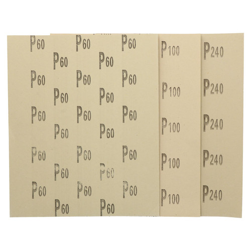 10pc Assorted Sandpaper Sanding Sheets For Metal Wood Plastic Mixed Grit Pack