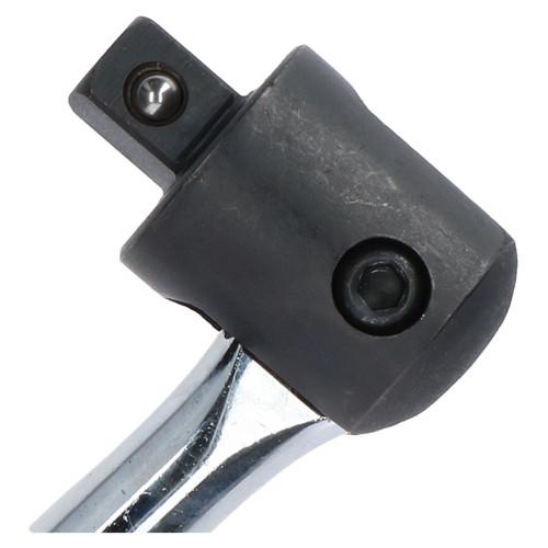 """10pc 1/2"""" Drive Deep Metric Impact Sockets 10 - 24mm & 1/2"""" Drive Breaker Bar"""