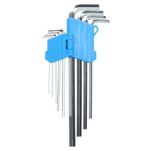 Extra Long Metric MM Allen Hex Keys 1.5mm - 10mm 9pc Hard Wearing Set