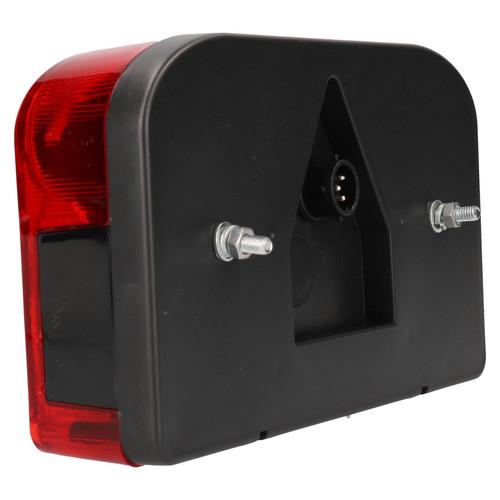 Trailer/Caravan Left Rectangular Light Replacement Lamp with Plug Indespension
