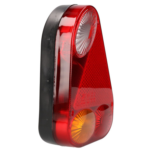 Trailer / Caravan Left Triangular Light Replacement Lamp with Plug Indespension