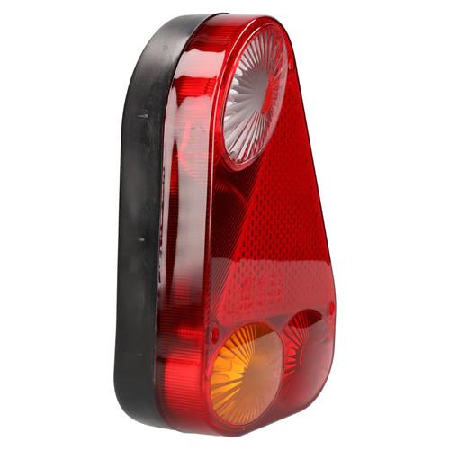 Trailer / Caravan Left Triangular Light Replacement Lamp with Plug Indespension
