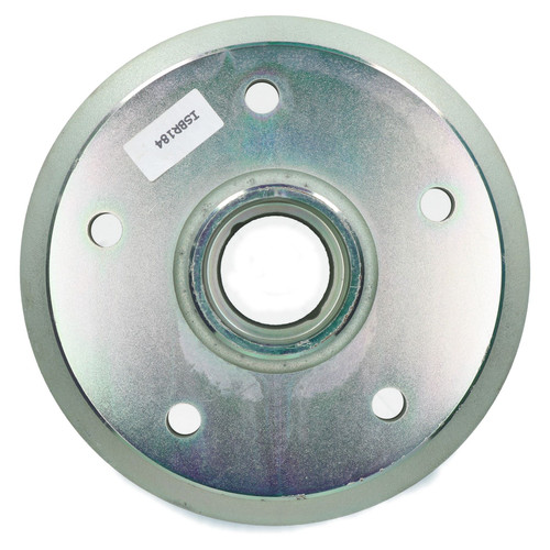 "2 x Indespension Brake Drums 2900kg 3000kg 3500kg Trailer 6.5"" PCD 5 Stud"