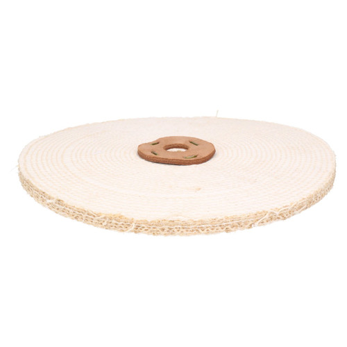 """Coarse Sisal Fast Cut Buffing Polishing Mop 12"""" x 0.5"""" 1 Section 1st Stage Metal"""