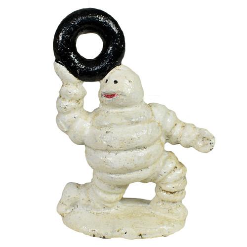 6pc Mini Michelin Men Man Mascot Bibendum Cast Iron Statue Figurines Sculpture