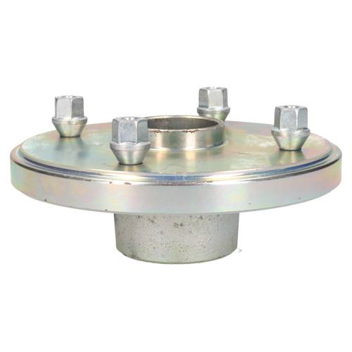 "2 x Trailer Wheel Hub 5.5"" (139.7mm) PCD Bearings Wheel Bolts Indespension"